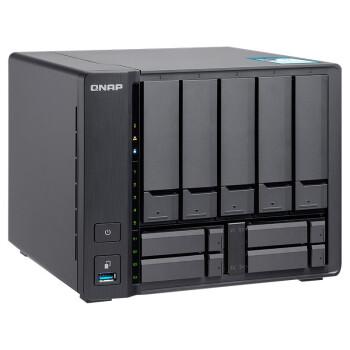 QNAP 威联通 TS-963N NAS网络存储磁盘阵列 9盘 千兆+5GbE接口 4G内存 空槽 0TB