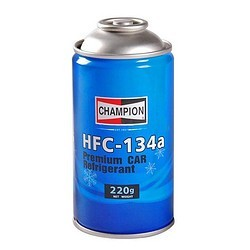 冠军 HFC-134a 空调制冷剂 220g 单瓶装+工时