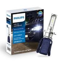 PHILIPS 飞利浦 UE恒锐光 汽车LED大灯 改装替换 H7 6000K 1对装 白光