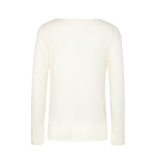Aimer 爱慕 牛奶2长袖上衣AK3722491 淡黄色 150cm