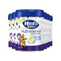 88VIP、双11预售:Herobaby 白金版 婴儿奶粉 3段 700g 6罐装