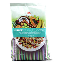 ICA 水果燕麦片 750g/袋