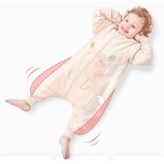 京东PLUS会员 : OUYUN 欧孕 婴儿彩棉睡袋 *2件