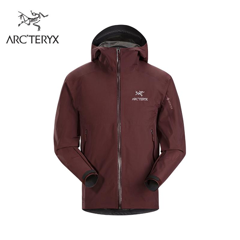 ARC'TERYX 始祖鸟 Zeta SL Jacket Men's 男款徒步冲锋衣 (红色)