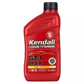 Kendall 康度 MAX钛流体 0W-20 全合成机油 SN级 946ML *6件 +凑单品