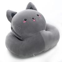 珍宝 67871688 可爱猫靠垫抱枕
