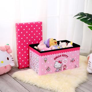 Hello Kitty 凯蒂猫 多功能可折叠储物箱