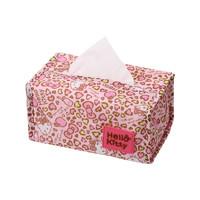 Hello Kitty 凯蒂猫 涤沦布艺纸巾盒
