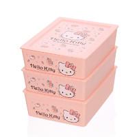 Hello Kitty 凯蒂猫 内衣裤收纳盒