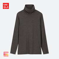 女装 HEATTECH两翻领T恤(长袖) 408237 优衣库UNIQLO