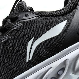 LI-NING 李宁 ARHN072 一体织减震女鞋跑步鞋 黑色 36