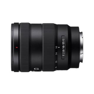 SONY 索尼 SEL1655G E 16-55mm F2.8 G APS-C画幅标准变焦G镜头 (黑、E卡口)