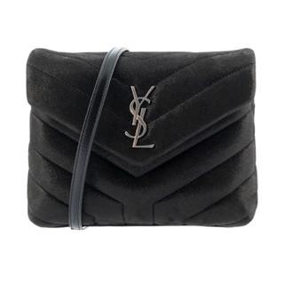 SAINT LAURENT PARIS 圣罗兰 LouLou系列 女士时尚Y形绗缝牛皮单肩斜挎包