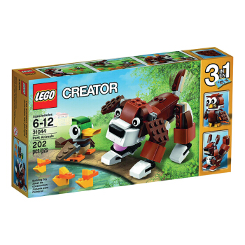LEGO 乐高 31044 Creator 创意百变系列 拼插玩具