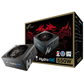 FSP 全汉 Hydro GE550 电脑电源 金牌(90%)550W 全模组化