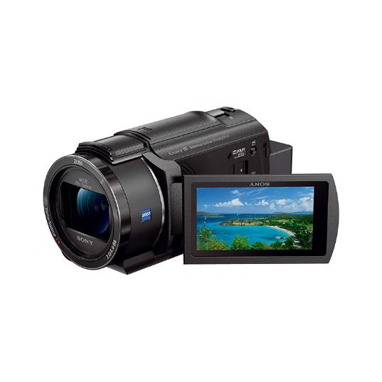 SONY 索尼 FDR-AX45 4K高清数码摄像机 (黑、F2.0-3.8、20x)