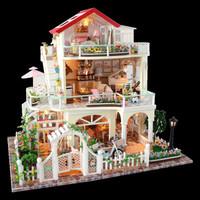 台爵 天长地久 diy手工拼装创意木制小屋