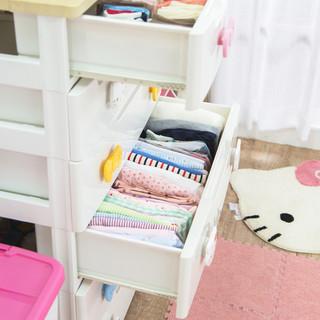 IRIS 爱丽思  KMU-7234 儿童抽屉式收纳柜