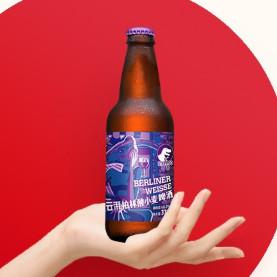 云湃(Steppeo)精酿啤酒柏林酸小麦 整箱装瓶装啤酒 柏林酸小麦330ml*6瓶 *2件