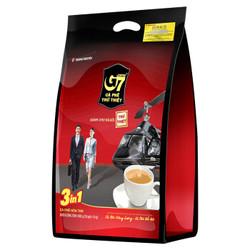 越南进口 中原G7三合一速溶咖啡800g(16克*50包)越南本土越文版包装