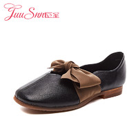 JUUSNN 巨圣 S883150915 蝴蝶结平底鞋