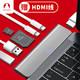 京东PLUS会员、历史低价:Snowkids macbook pro 转接器 Type-c转HDMI+USB+卡槽 96.5元(需用券)