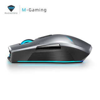 MACHENIKE机械师 刀锋M7电竞游戏无线鼠标 畅玩版-无线-2400DPI-7色变光光轨