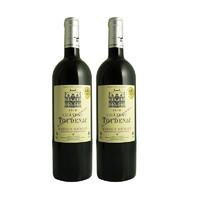 CASTLE城堡 杜纳克城堡 2012红葡萄酒 750ml*2瓶