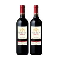 城堡 法国原装进口 拉里城堡 2014 红葡萄酒 750ml*2瓶