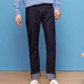 Meters bonwe 美特斯邦威 756311 男士直筒牛仔裤