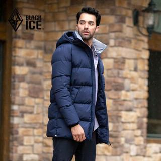 BLACK ICE 黑冰 F8516 男士中长款羽绒服 +凑单品