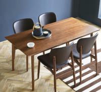 样子 绅士系列 摩卡橡木餐桌 1.4m