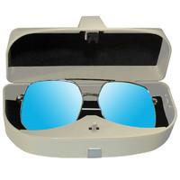 车载眼镜盒汽车墨镜架眼睛夹内遮阳板收纳多功能车用夹子改装通用