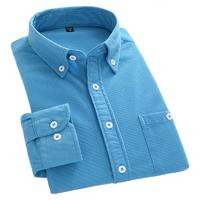 森页 男士灯芯绒衬衫 薄款 M-5XL