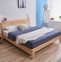 A家家具 日式純實木大床 1.2米