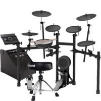 Roland 罗兰 电子鼓TD-4KP TD-11K TD-11KV TD-17K 17KVX架子鼓电鼓 TD17K-L+PM100音箱+鼓凳鼓棒全套配件