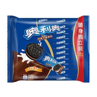 Oreo 奥利奥 夹心饼干巧克力味 349g *19件