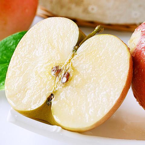 白菜党:福瑞达 红富士冰糖心苹果 10斤 75-80mm