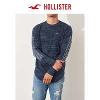 Hollister宽松织纹图案T恤 男 256653-2