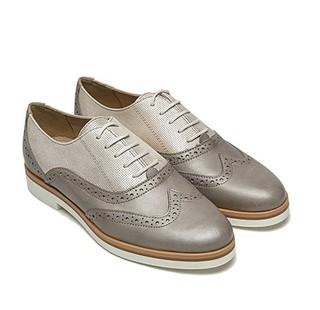 GEOX 健乐士 D725AG0SKMRC08 女士低跟牛皮鞋