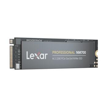 Lexar 雷克沙 NM700 M.2 NVMe SSD固态硬盘 512GB