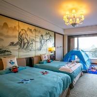 桂林香格里拉大酒店 亲子2晚度假套餐  含2大1小早餐+自助午餐+亲子活动+主题房布置