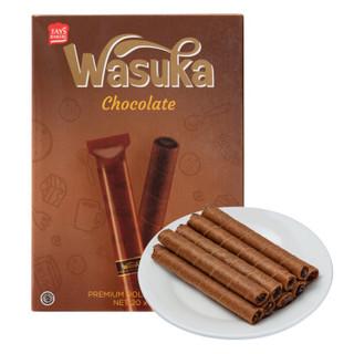 Wasuka 哇酥咔 爆浆威化卷 巧克力味 240g *14件