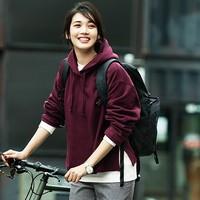 UNIQLO 优衣库 U系列 422573 女士连帽运动衫