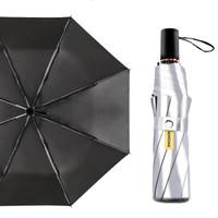 鈦銀膠防曬太陽傘男女兩用晴雨傘防紫外線遮陽傘