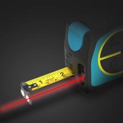 迈测DT10多功能充电式激光测距仪卷尺