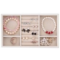 悦利(Richblue)首饰盒手表珠宝项链戒指多格收纳盒