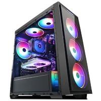 京天 台式电脑主机(R5 3600、8GB、256GB、RX590 8GB)