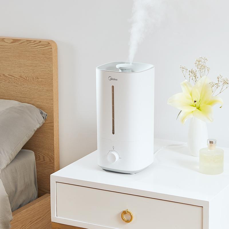 美的加湿器家用静音卧室客厅小型大喷雾器大雾量孕妇婴儿净化空气
