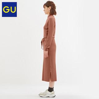 GU 极优 女装针织连衣裙